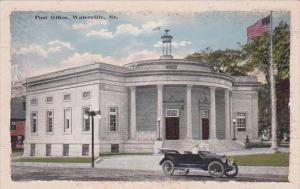 Maine Waterville Post Office 1920