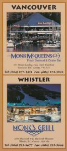 VANCOUVER , B.C. , Canada , 50-60s ; Monk McQueens Seafood & Oyster Bar