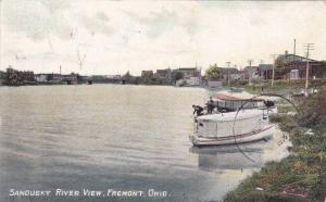 Sandusky River View, Fremont, Ohio, PU-1908