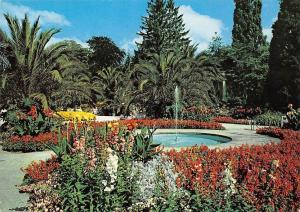 Bad Pyrmont Im Palmengarten Brunnen Fountain Garden Park