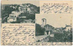 07071  CARTOLINA d'Epoca - FIRENZE: Pieve San Romolo e Gavilla