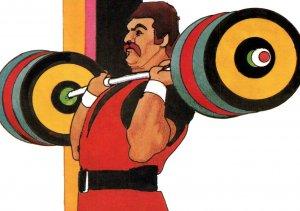 Olympics Weight Lifting BIN