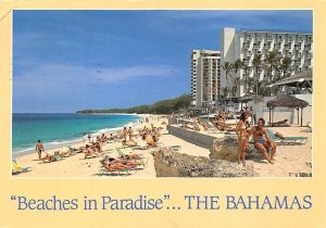 Beaches in Paridise Nassau in the Bahamas Postal used unknown