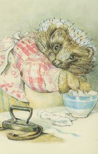 The Tale Of Mrs Tiggy Winkle 1905 Beatrix Potter Book Postcard