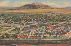 TUCUMCARI, New Mexico,1930-1940s ; Air View Of Tucumcari