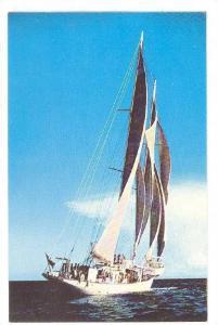 Polynesia, Schooner, Miami Beach, Florida,40-60s