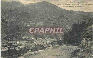 Old Postcard Vall�e Queyras - NEEDLES View g�n�rale taking road Fontgil...