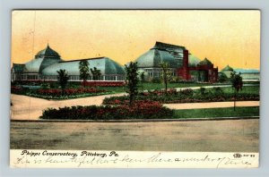 Pittsburg PA-Pennsylvania, Phipps Conservatory, Vintage Postcard