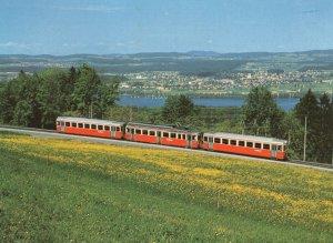 Pendelzug Der Forchbahn Switzerland Train Postcard