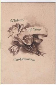Vintage Booklet,  A TOKEN OF YOUR CONFIRMATION