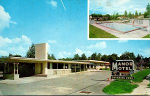 Florida Gainesville The Manor Motel & Restaurant 1964