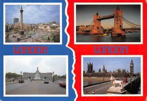 England London multiviews Souvenir bridge pont monument