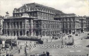 Wien, Vienna Austria, Österreich Oper  Oper