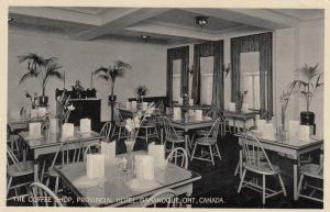 Interior of Coffee Shop , Provincial Hotel , GANANOQUE , Ontario, Canada, 10-20s