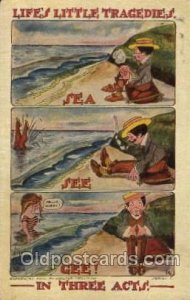 Artist Signed Walter Wellman 1910 crease right top corner and left edge, some...