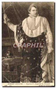 Old Postcard Robert Lefevre Napoleon 1st Emperor of the French Museum of Vers...
