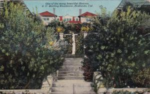 REDLANDS, CA, 00-10s; One Of The Many Beautiful Houses, S. C. Sterling Residence