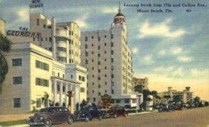 Collins Avenue - Miami Beach, Florida FL