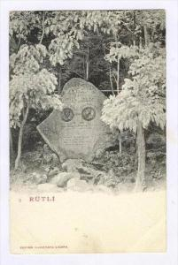 Rütli-Liedes, Rütli (Lake Lucerne), Switzerland, 1900-1910s