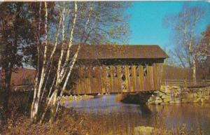 Covered Bridge At Andover New Hampshire