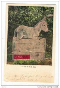 Jack-in-the-box, Donkey, PU-1907
