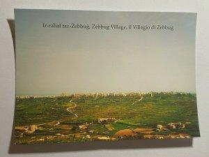 UNUSED PICTURE POSTCARD - GOZO MALTA  ZEBBUG VILLAGE   (KK1859)