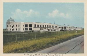 TRENTON , Ontario , 1930-40s ; R.C.A.F. Station , The Hangers