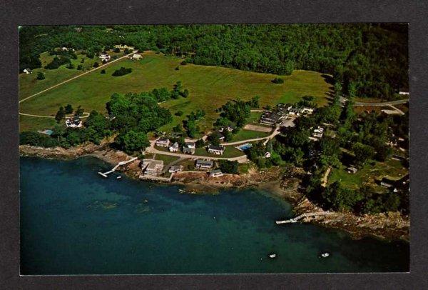 Me Homewood Inn Hotel Casco Bay Yarmouth Maine Postcard