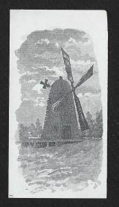 VICTORIAN TRADE CARD Appts WL Haskell Windmill
