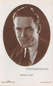 Harold Lloyd Movie Star Actor Actress Film Star Postcard, Old Vintage Antique...