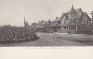 QUAKERTOWN , Pennsylvania, 00-10s ; Front Street Homes