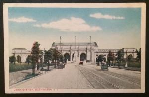 Union Station, Washington D.C., The Washington News Co.