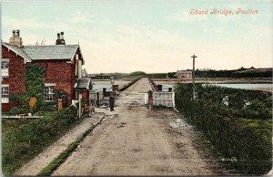 Shard Bridge Poulton Le Fylde Lancashire England Unused Postcard F97
