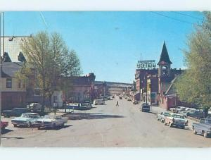 Pre-1980 SHOPS ALONG STREET Leadville - Near Breckenridge Colorado CO G5018