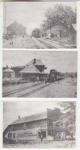 P2126, from old photos vintage pc dayton lebanon & cincinnati train station ohio