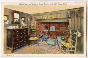 Kitchen, House of Seven Gables, Salem MA