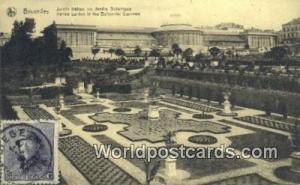Bruxelles, Belgium, België, la Belgique, Belgien Jardin Italien au Jardin Bo...