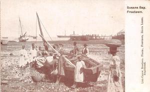 Sierra Leone Freetown Susans Bay, Ships, Boat, Pier