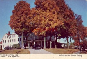 THE PRESIDENTIAL INN,, CONWAY NH T W Martin, Jr., Owner-Mgr