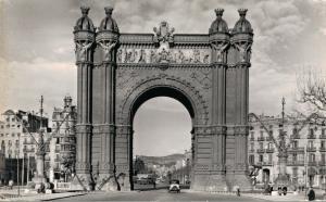 Spain - Barcelona Arco di Trento 01.64
