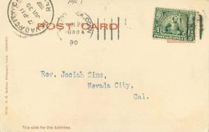 Bridgeport Connecticut 1907 Postcard Washington Park Jackson 2976