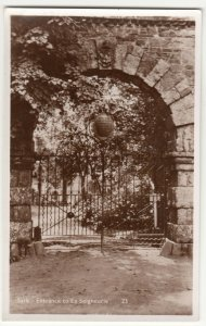 Channel Islands; Sark, Entrance To La Seigneurie No 23 RP PPC By CH Toms, c 50's