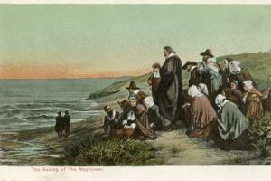 Sailing of the Mayflower