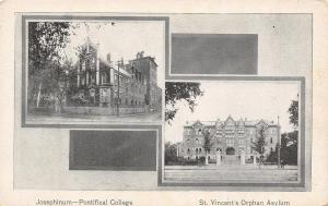 Columbus Ohio~Josephinum-Pontifical College~St Joseph's Orphan Asylum c1910