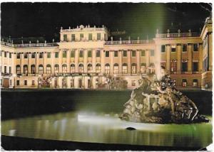 Austria - Osterreich.  Vienna.   Schönbrunn Palace & fountain