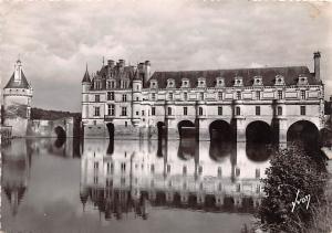Chenonceaux France Le Chateau Façade Ouest Chenonceaux Le Chateau Façade Ouest