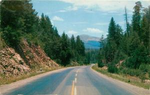 Dark Canyon US 70 Mescalero Apache Indian Reservation New Mexico NM Postcard