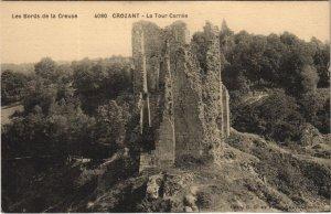 CPA CROZANT - La Tour Carrée (121793)