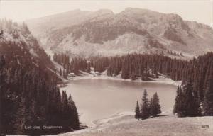 Switzerland Lac des Chavonnes Real Photo