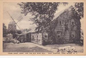 Home Sweet Home and the Old Wind Mill - East Hampton, Long Island NY, New York